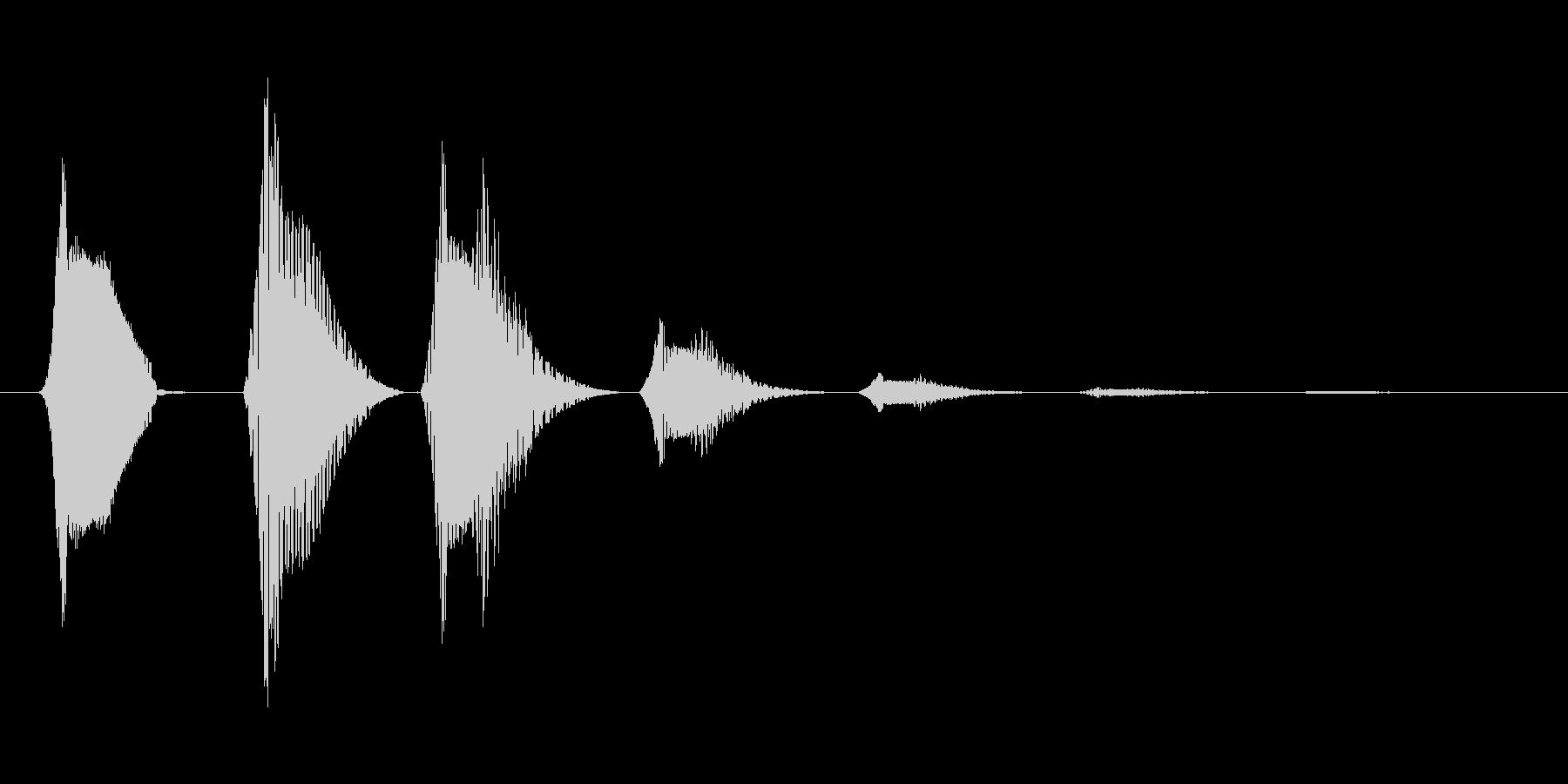 ファミコン風効果音決定音系です 14の未再生の波形