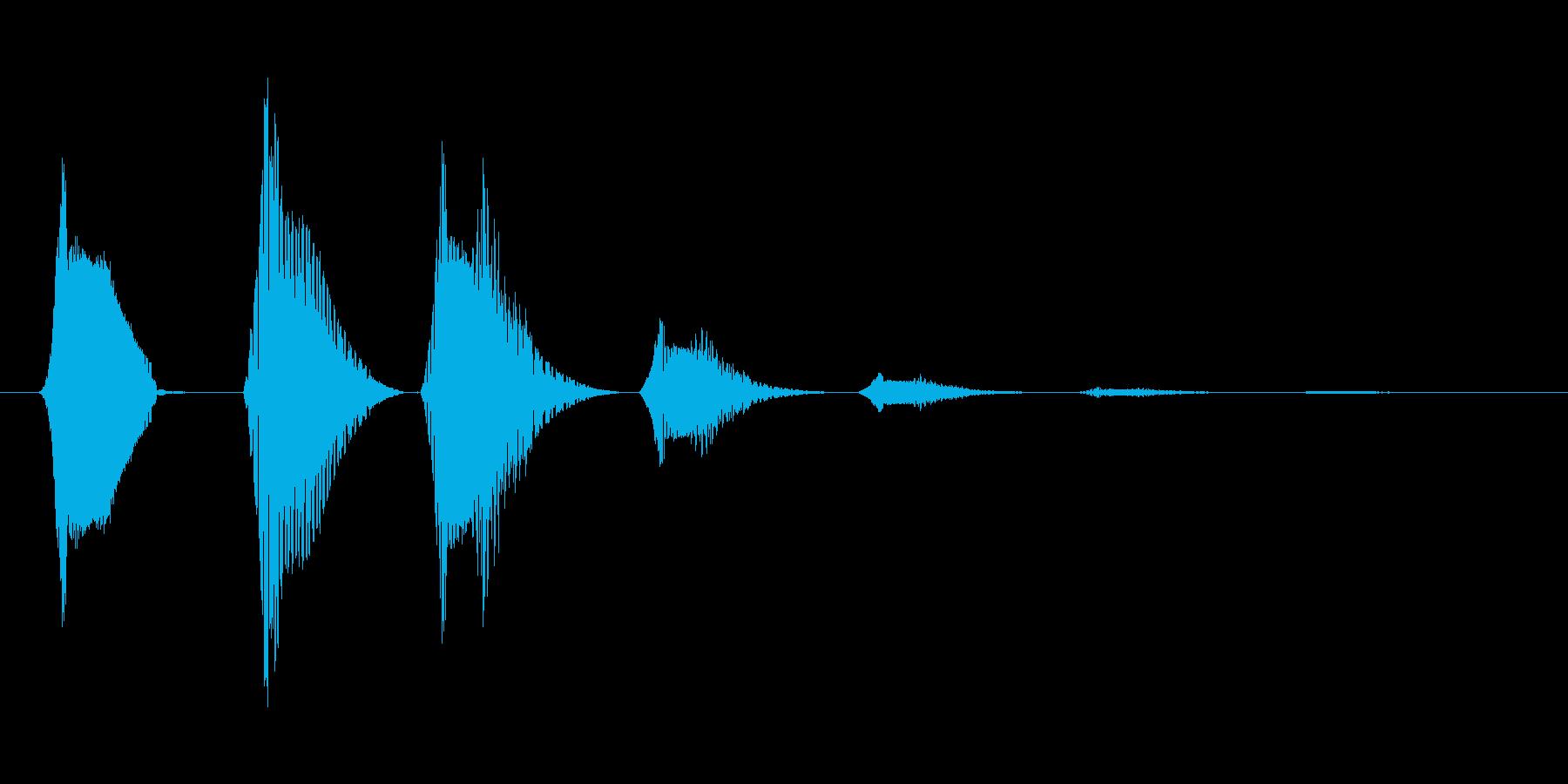 ファミコン風効果音決定音系です 14の再生済みの波形