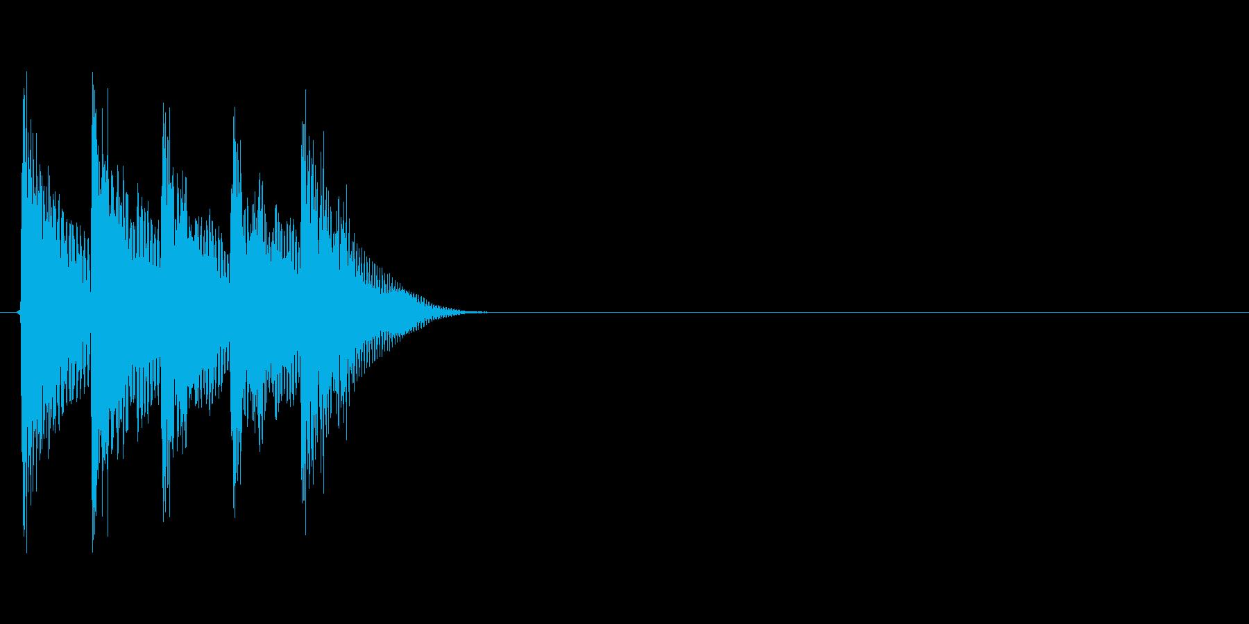 タララララン↑(場面転換、自然、低め)の再生済みの波形