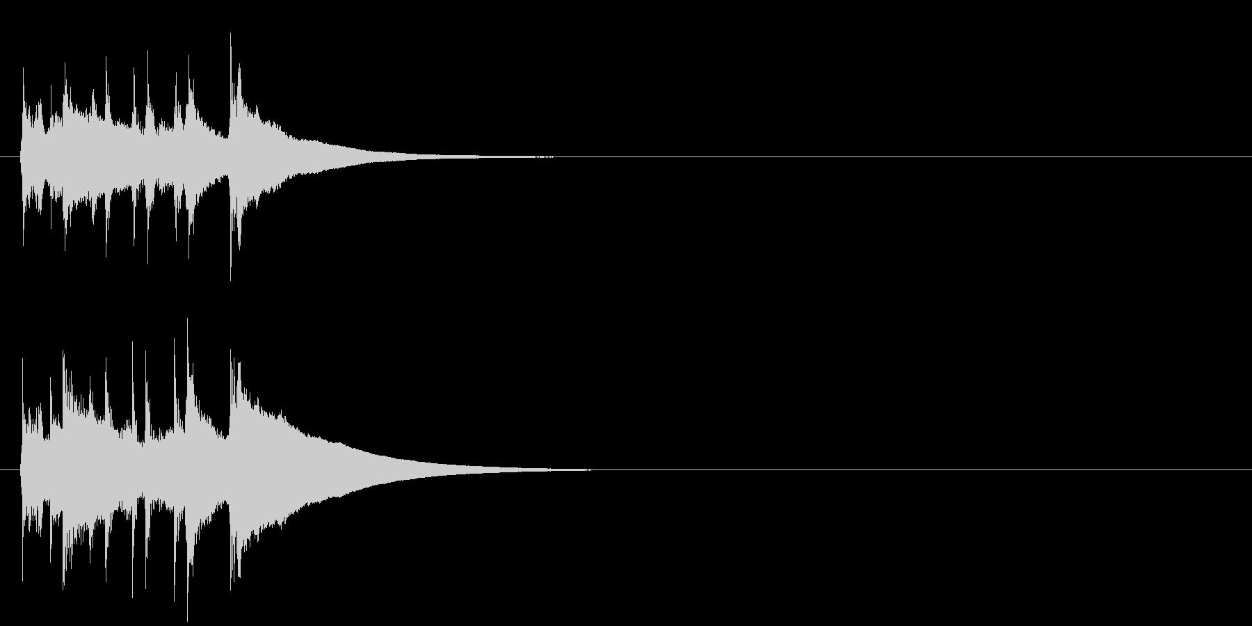 ジングル/コミカル(ズッコケ/阿波踊り)の未再生の波形
