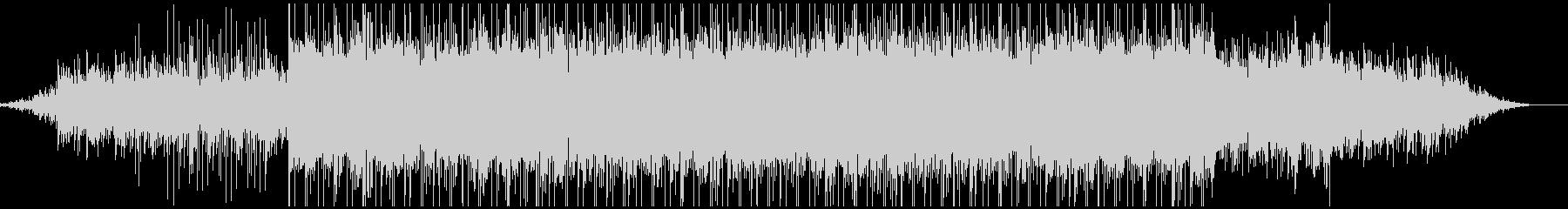 ピアノがきらきら綺麗なBGM4の未再生の波形