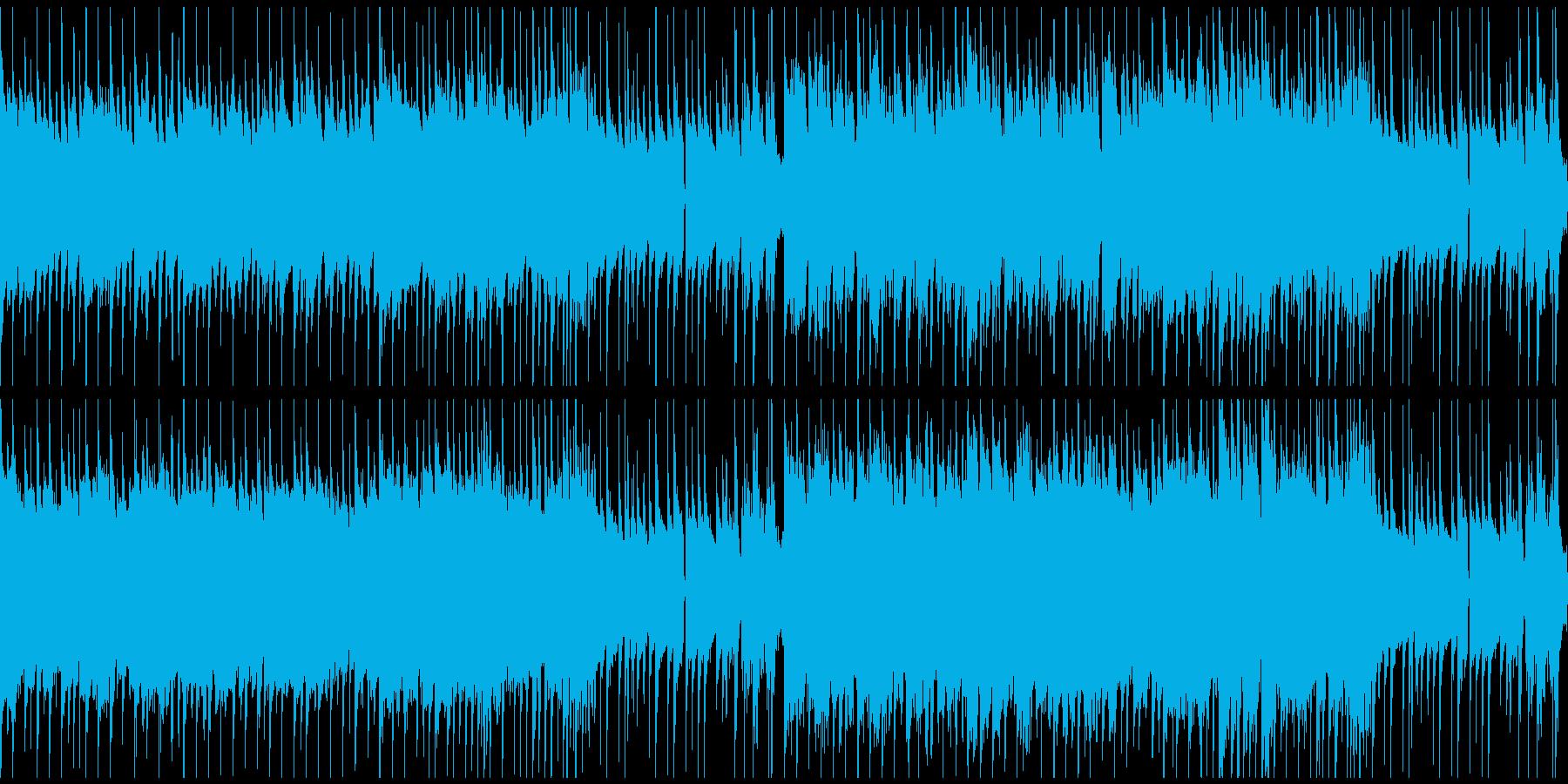 ゲームの選択画面BGMの再生済みの波形