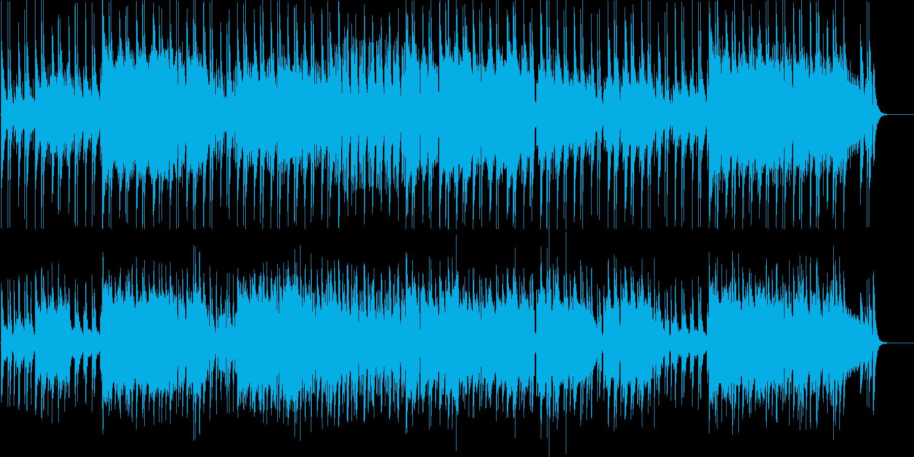 ミクソリディアン音階を使った不思議なほ…の再生済みの波形