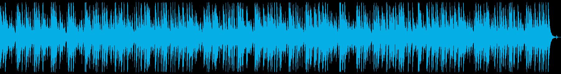 ウクレレとナイロンギターのほのぼのBGMの再生済みの波形
