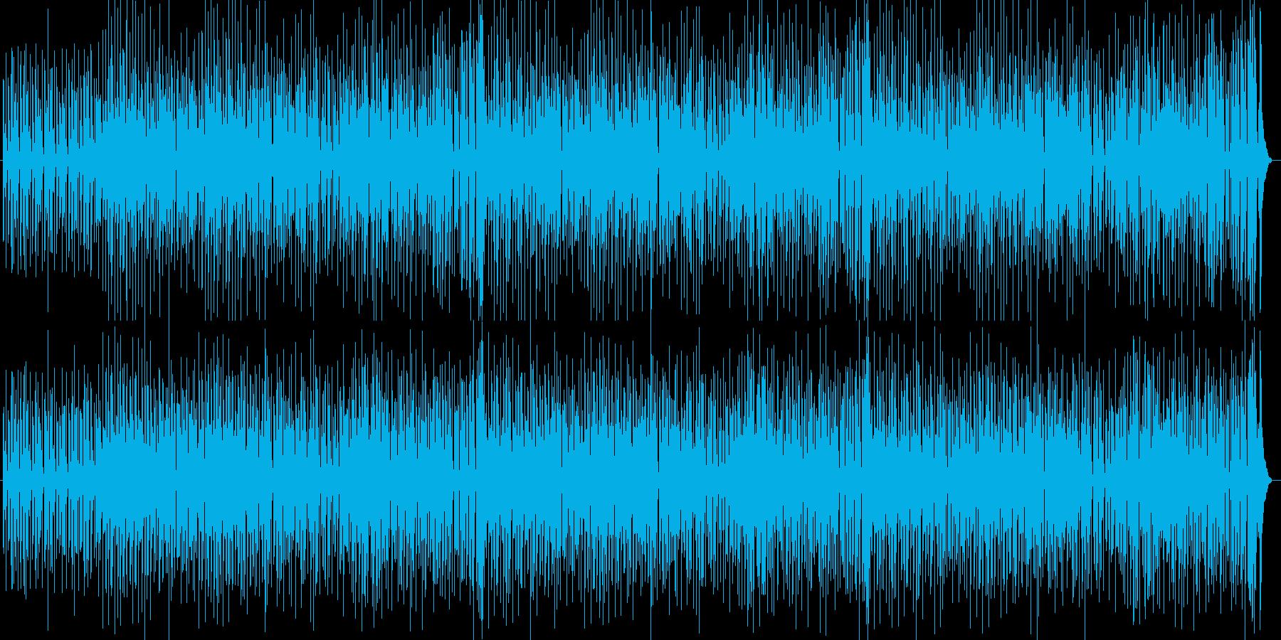 ほのぼの/まったりした日常シーンの劇伴の再生済みの波形