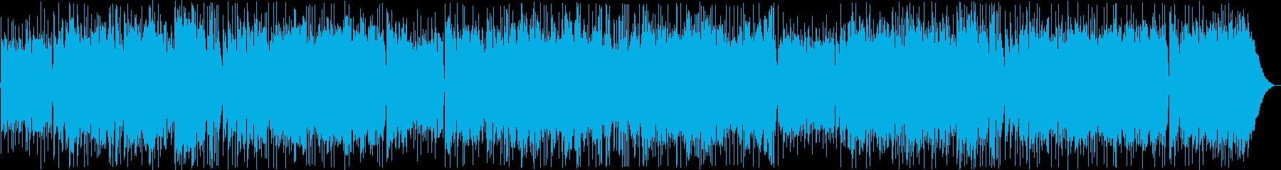 おしゃれなギター・シンセボサノヴァ系の再生済みの波形