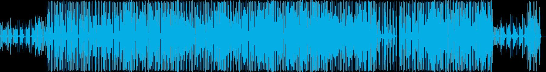 穏やかなほのぼのとしたイージーリスニングの再生済みの波形