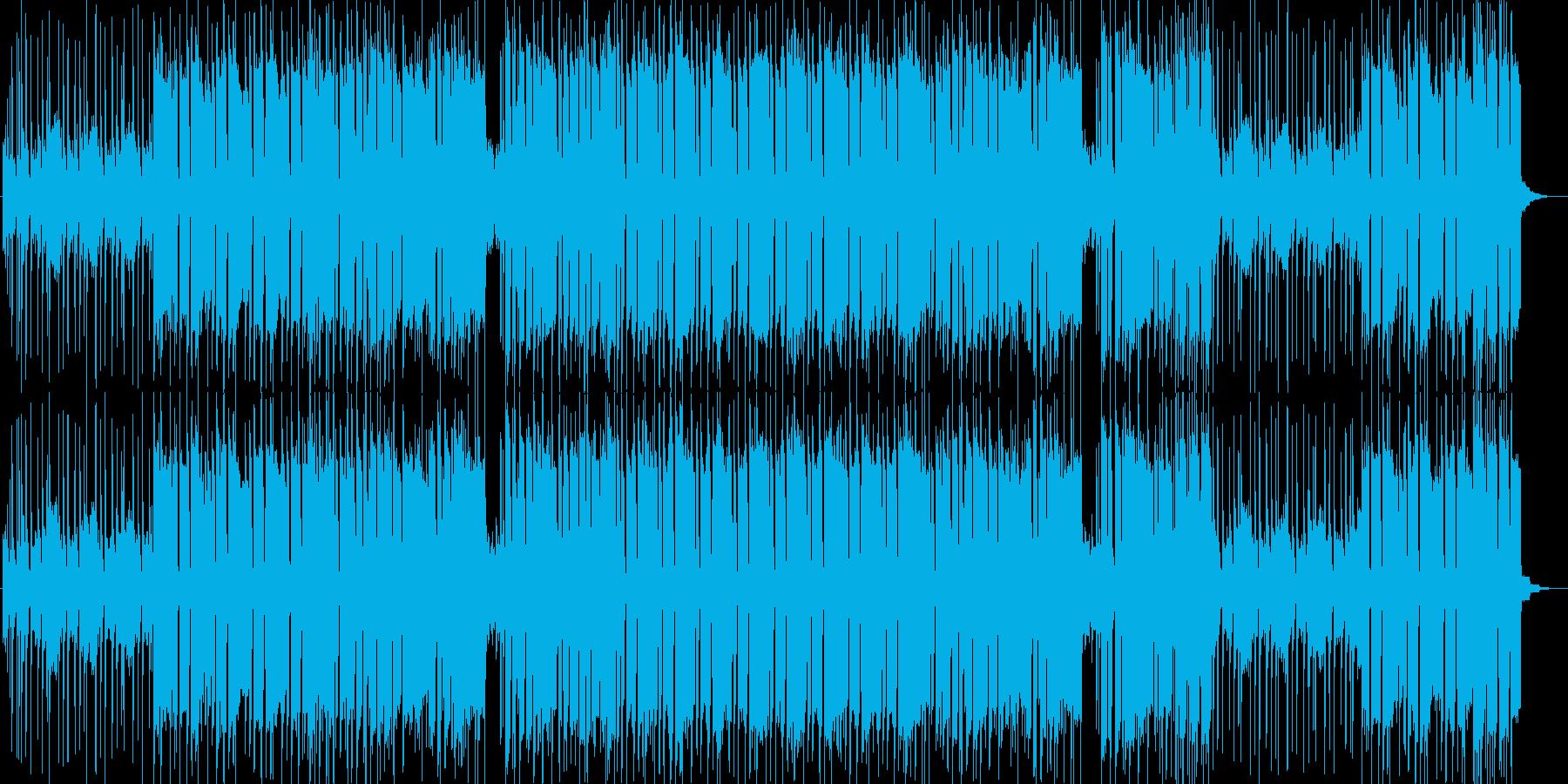ロックギター・リフ・ポジティブ・安定感の再生済みの波形