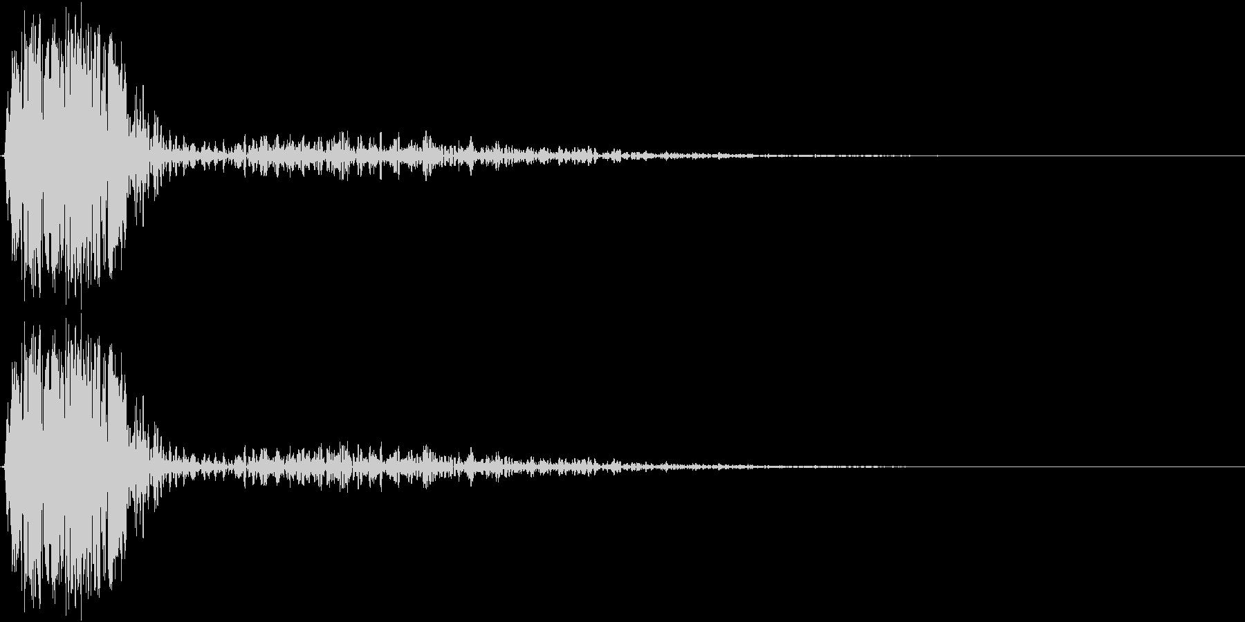 KAKUGE 格闘ゲーム戦闘音 61の未再生の波形