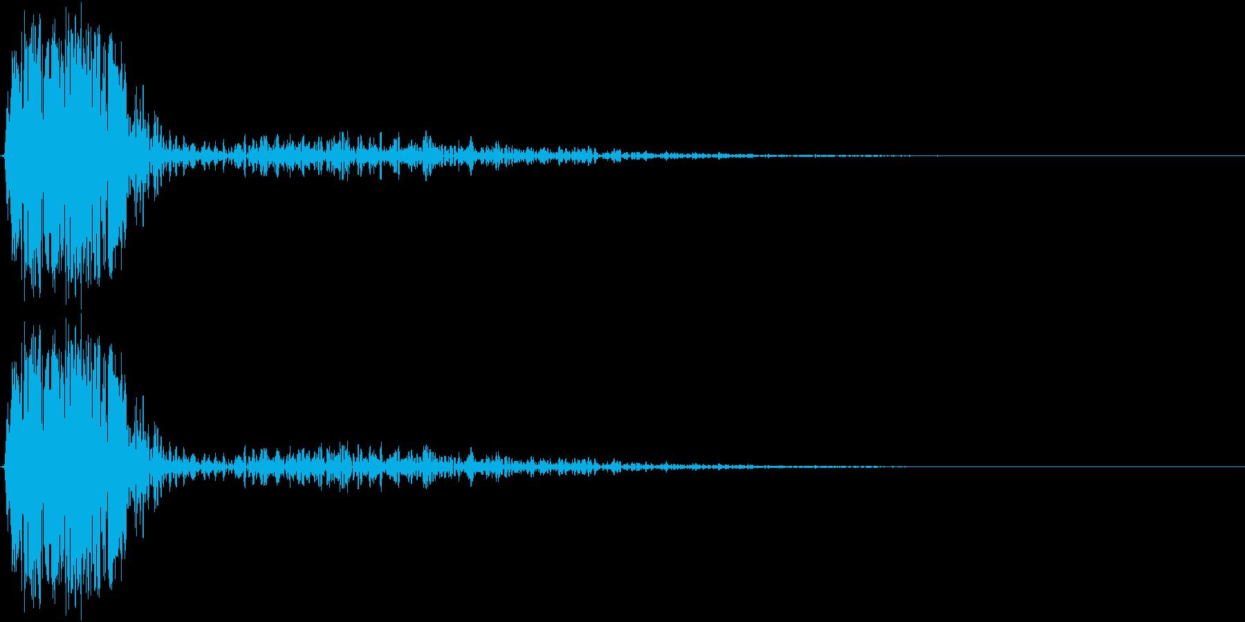KAKUGE 格闘ゲーム戦闘音 61の再生済みの波形