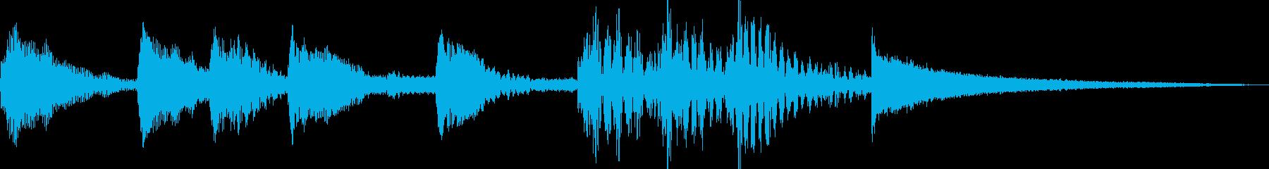 ホンワカジングル(ピチカートとチーン)の再生済みの波形