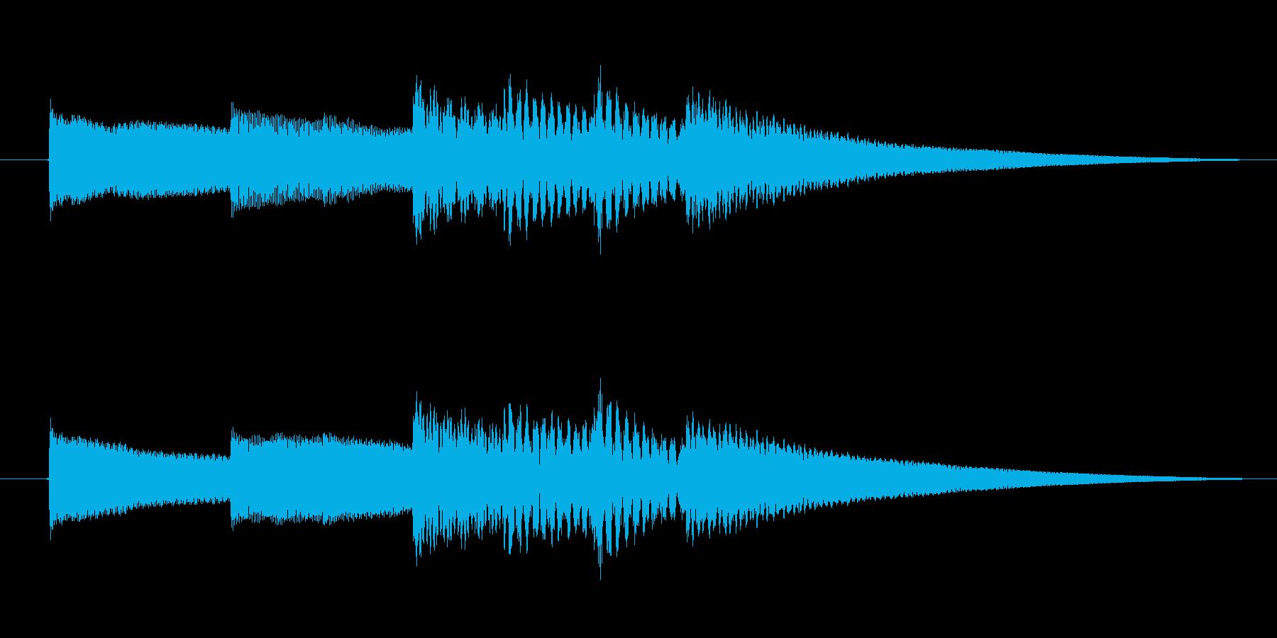 シンプルで優しいオルゴールアイキャッチ…の再生済みの波形