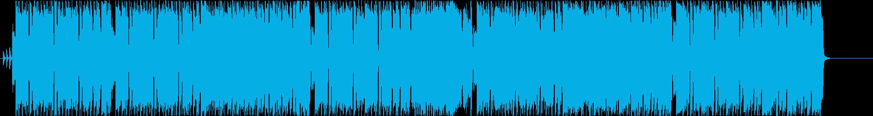 ギターインスト歌謡ロックの再生済みの波形