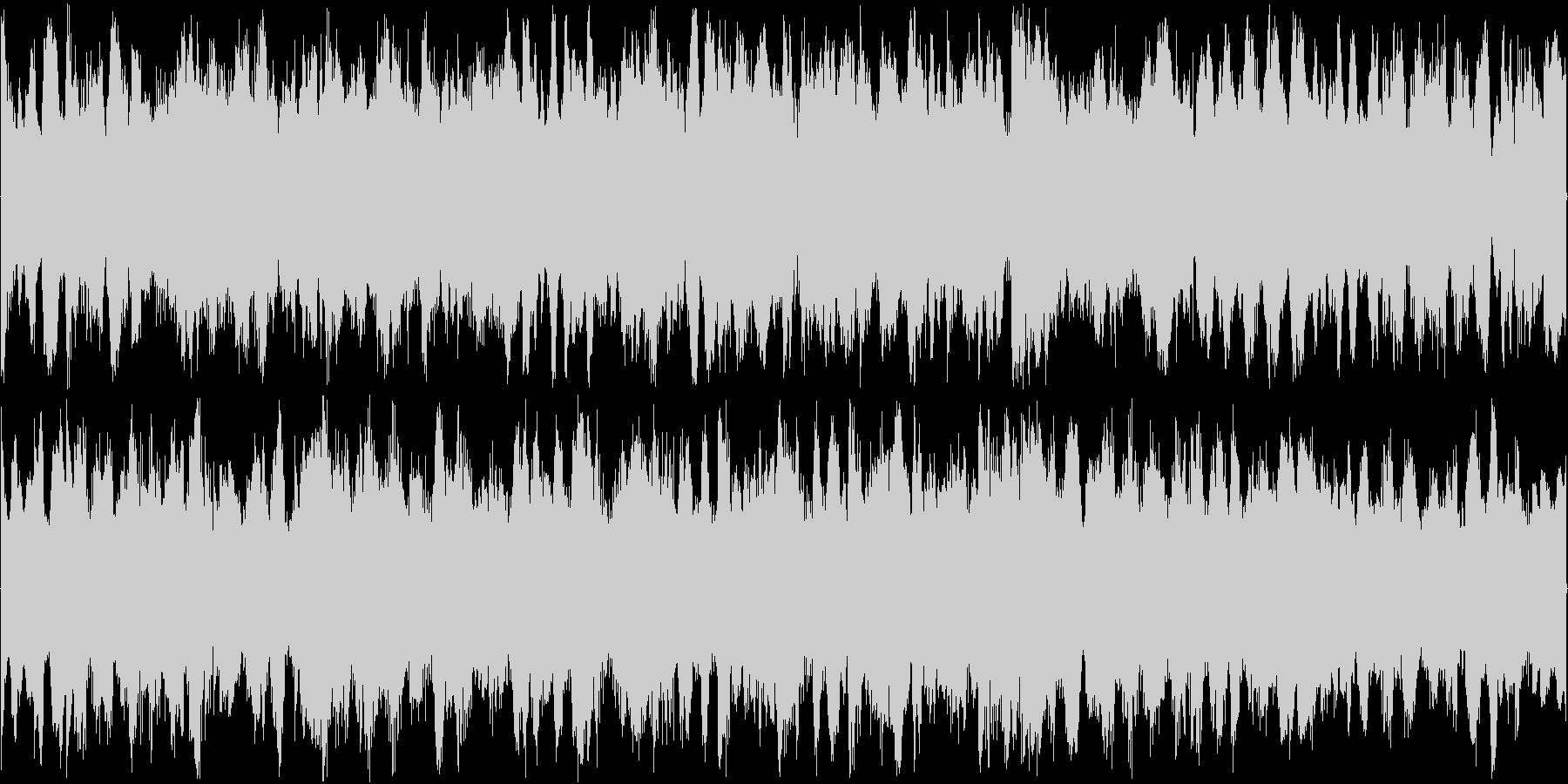 少し暗いミステリアスなBGM 様々な用…の未再生の波形