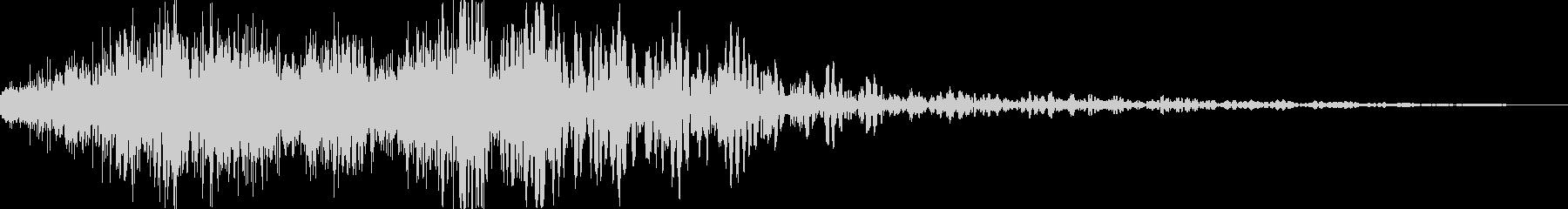 重力魔法(反重力空間の音)の未再生の波形