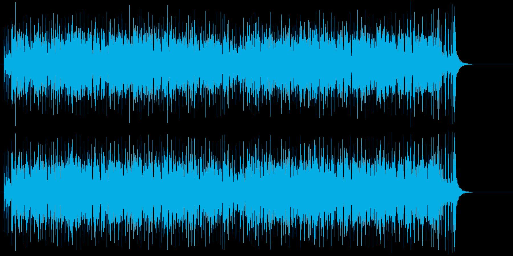 シャープでダンディーなポップスの再生済みの波形