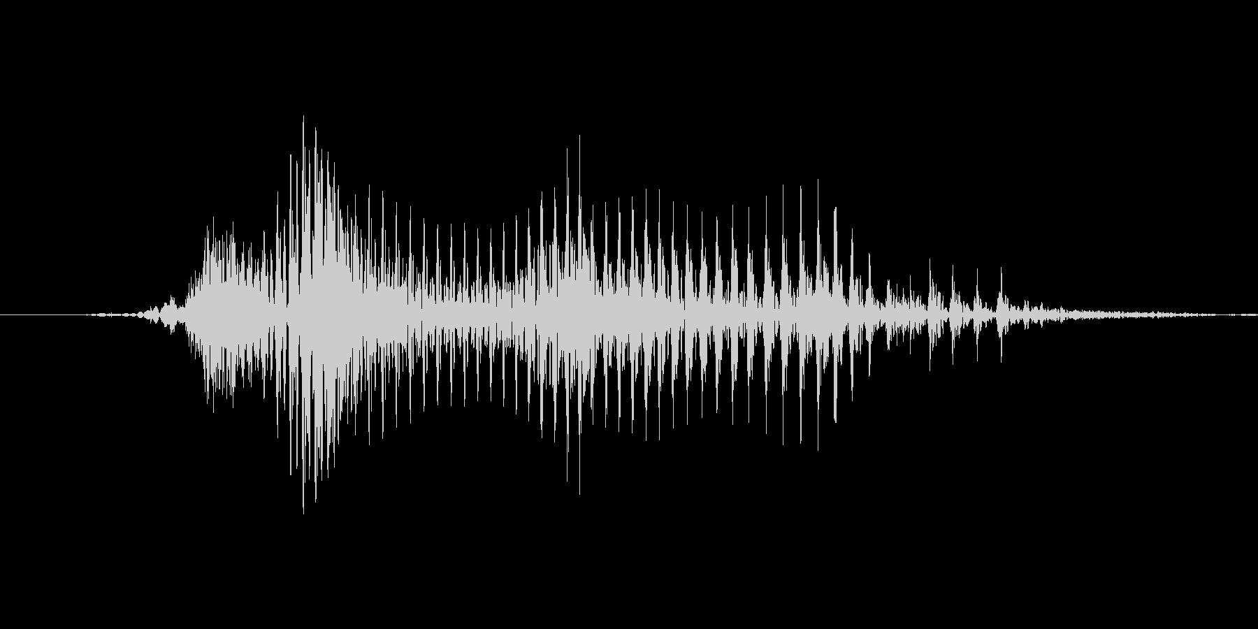 「July」英語発音の未再生の波形