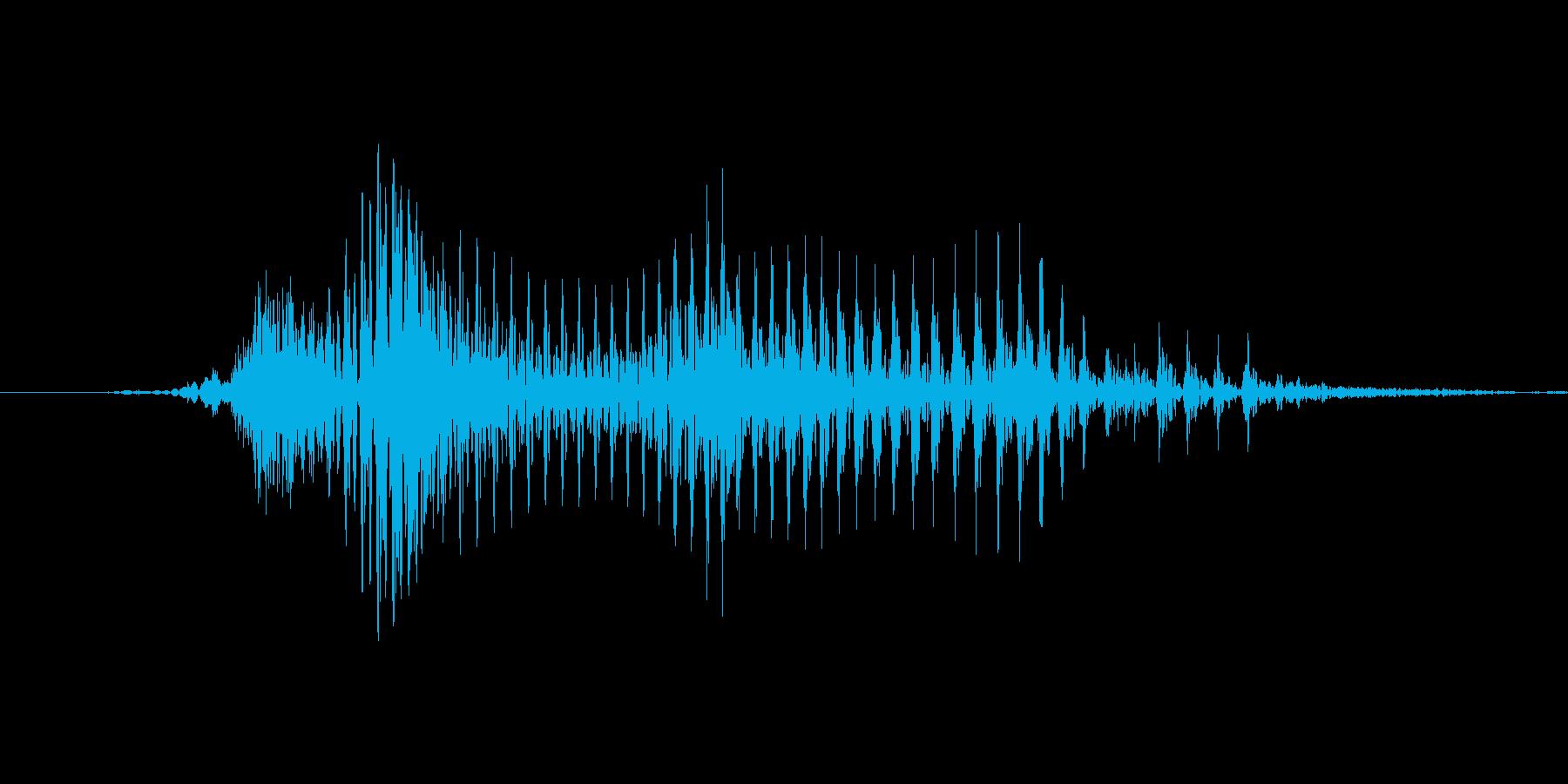 「July」英語発音の再生済みの波形