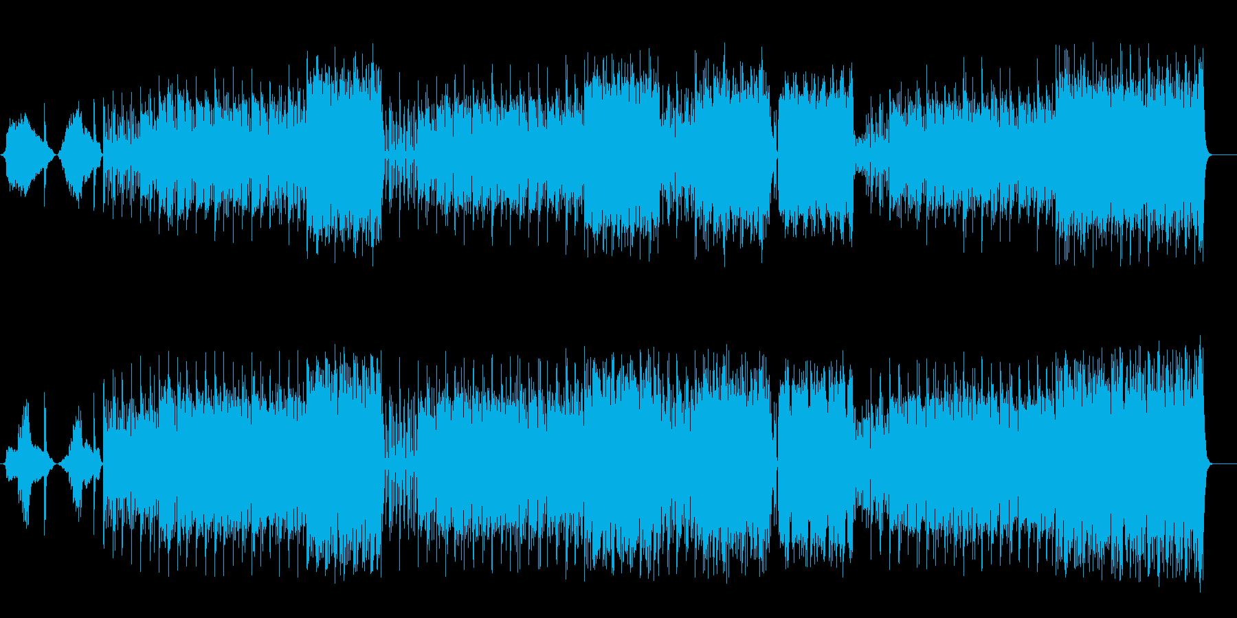 中央アジア高原地方風サウンドの再生済みの波形