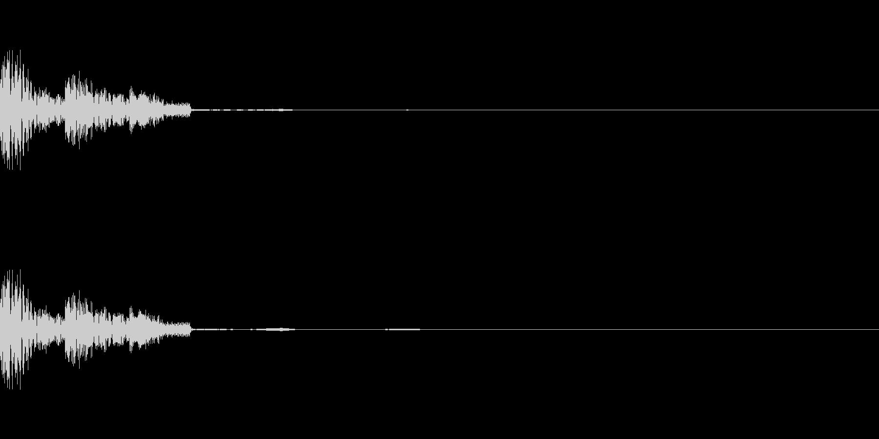 [ポコン]選択音(コミカル)の未再生の波形