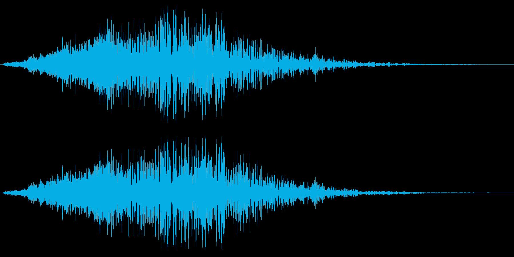 タラララララショワーの再生済みの波形