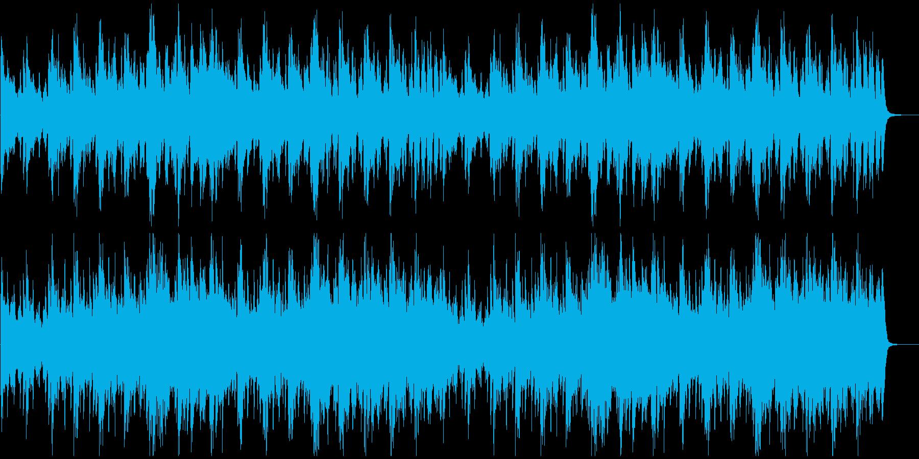 【映画、CM】緊張の一手 オーケストラ曲の再生済みの波形