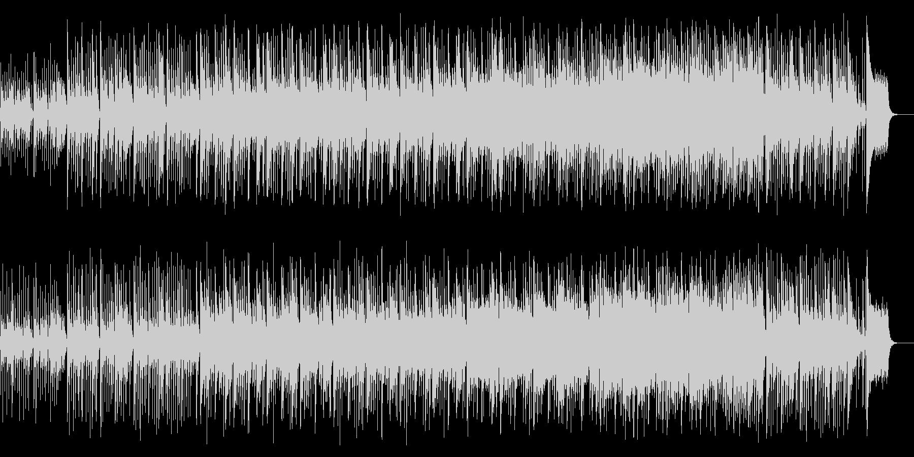 メルヘンで明るいわくわくするbgmの未再生の波形