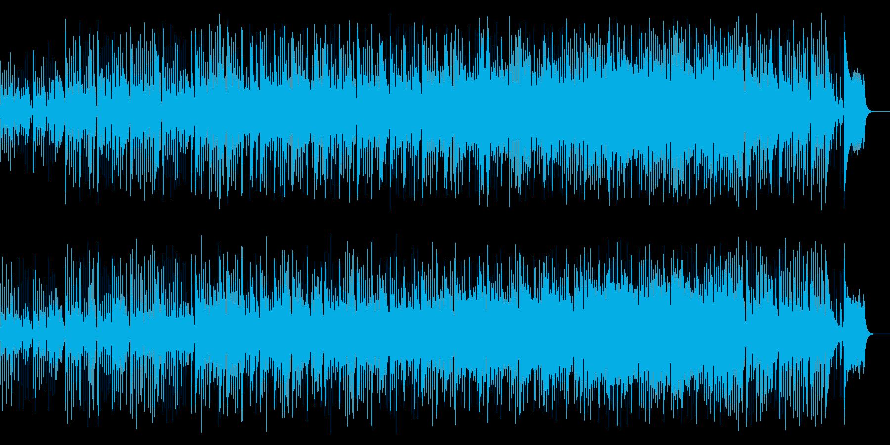 メルヘンで明るいわくわくするbgmの再生済みの波形