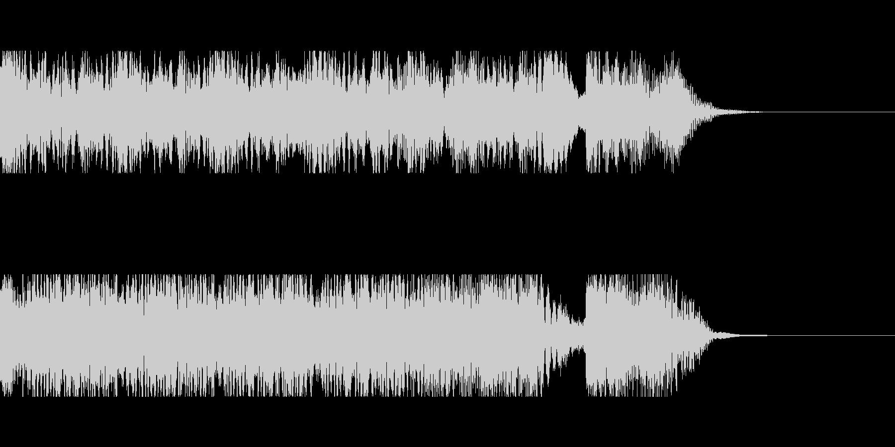 発車メロディ4の未再生の波形