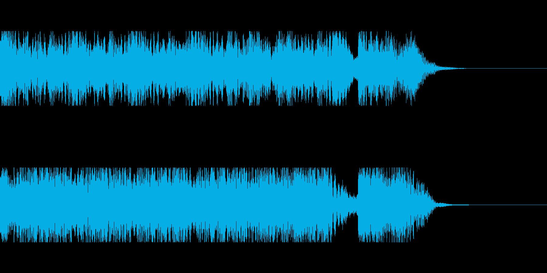 発車メロディ4の再生済みの波形