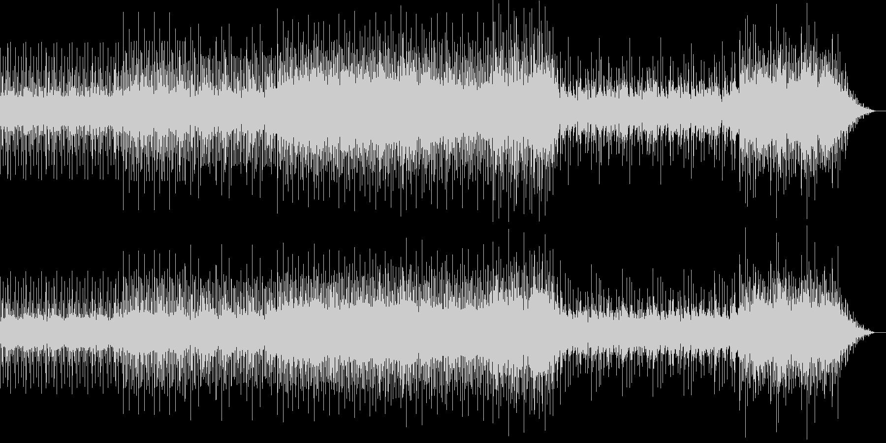 クールでアップテンポなポップスの未再生の波形