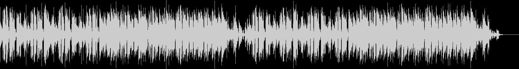 ドラムレスのリズムが印象的なポップギターの未再生の波形