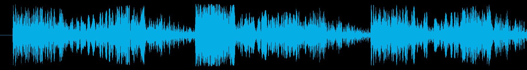 スクラッチ/DJの効果音!09の再生済みの波形