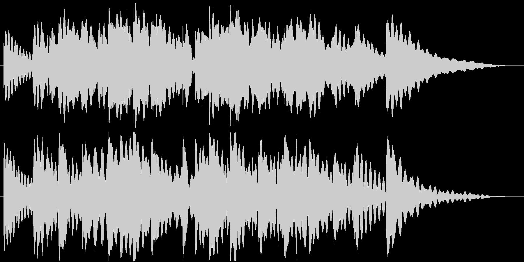 ヒーリング楽曲です。24bit,48k…の未再生の波形