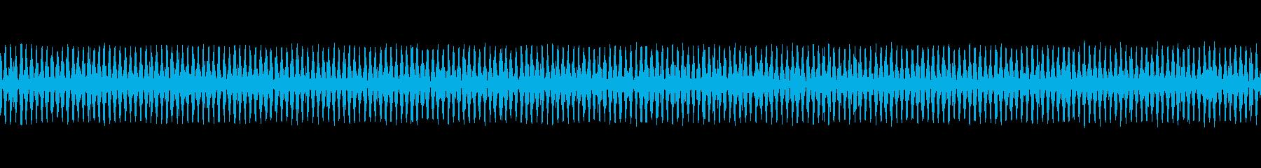 ガガガガガガ(8ビット風機械の動作音)の再生済みの波形