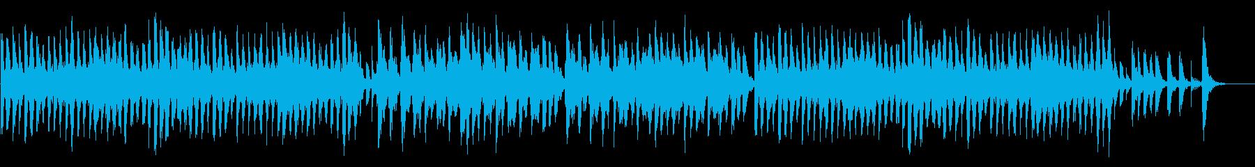 マリンバとアコーディオンの弾むポップスの再生済みの波形