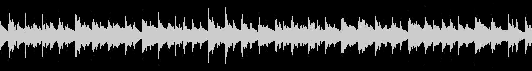 アコギの陽気な伴奏のシンプルなループ曲の未再生の波形