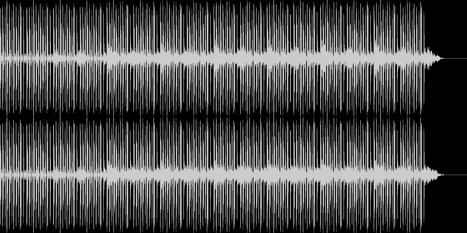 ヒップホップビート+ピアノのサウンドの未再生の波形