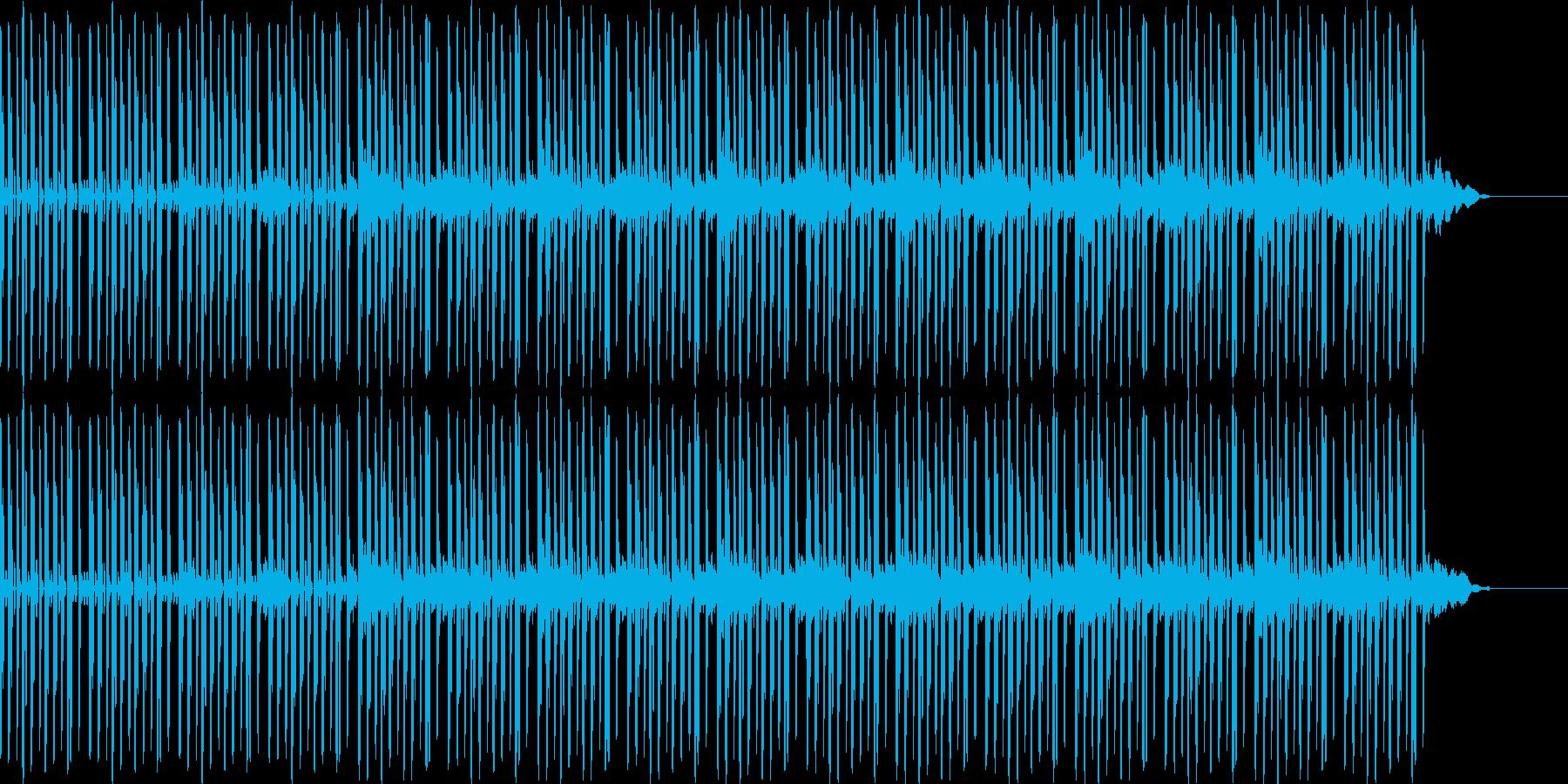 ヒップホップビート+ピアノのサウンドの再生済みの波形