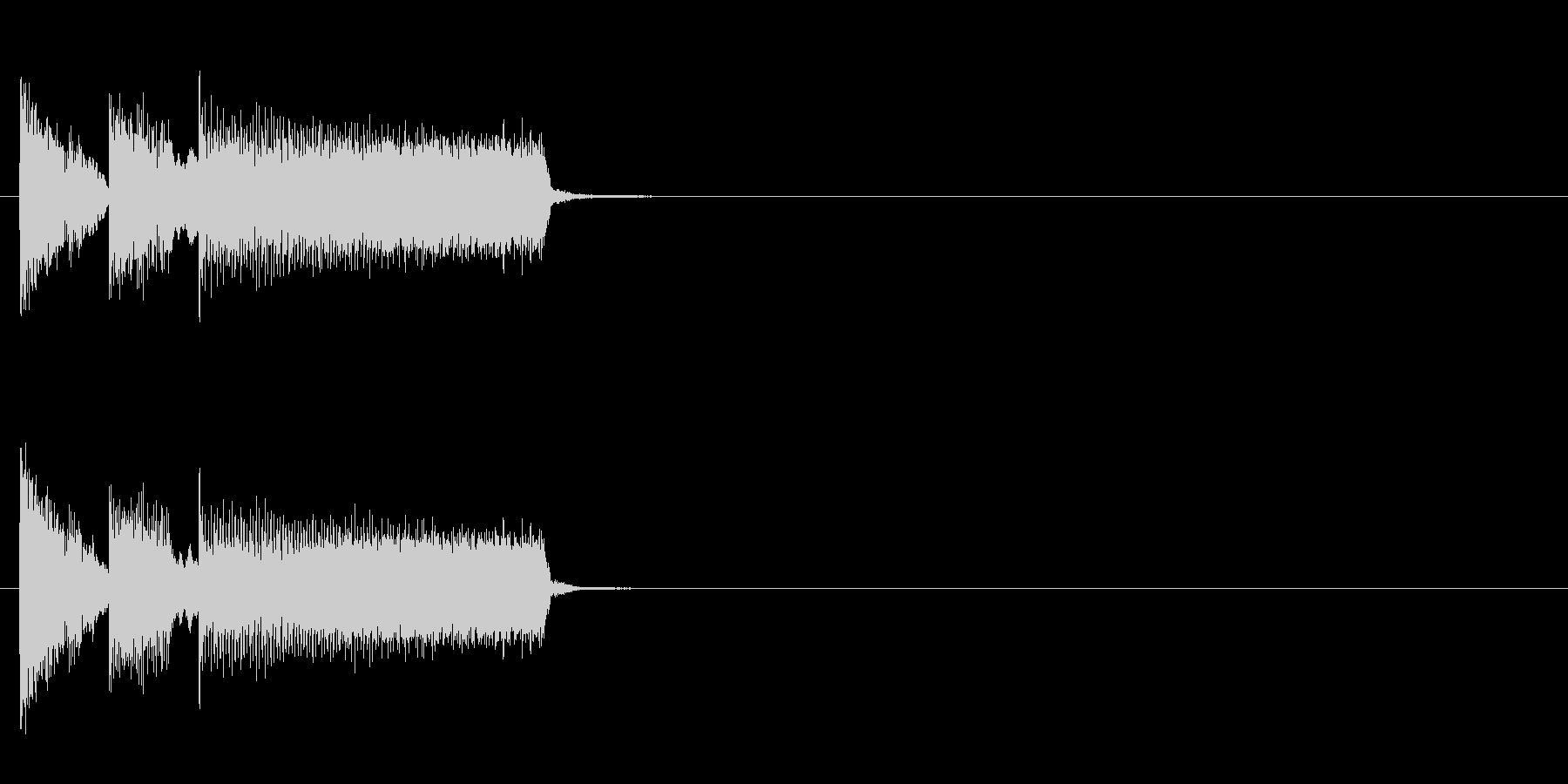 おちゃらけ コミカル クイズ ズッコケの未再生の波形