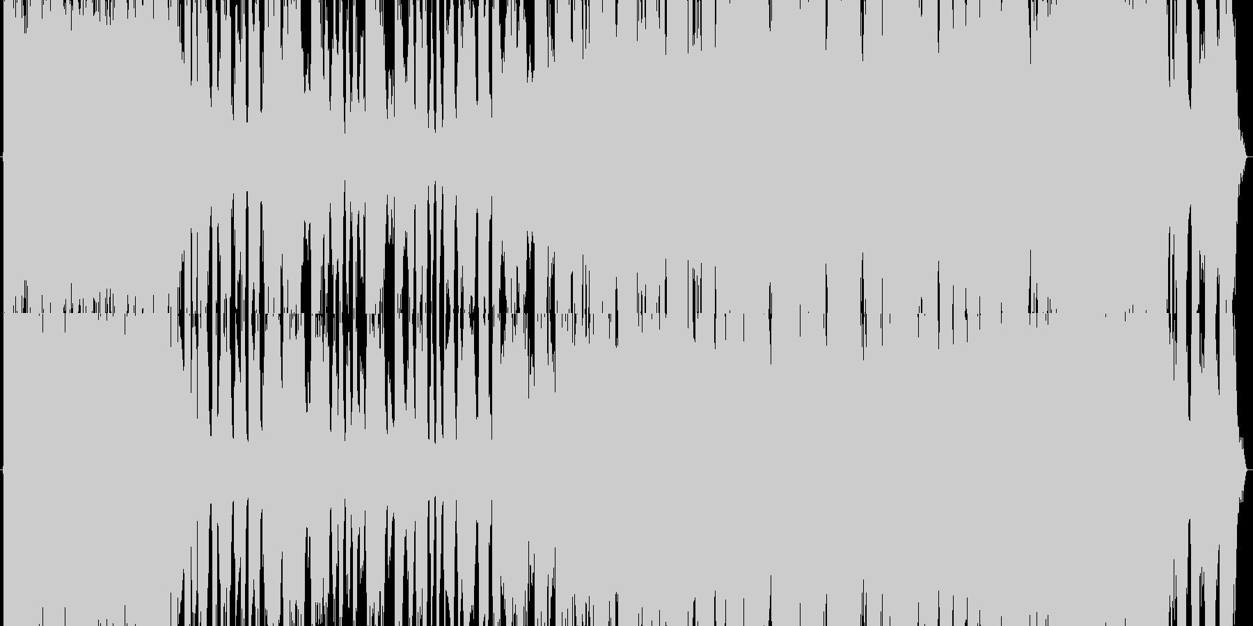 疾走感のあるガールズロック(30秒verの未再生の波形