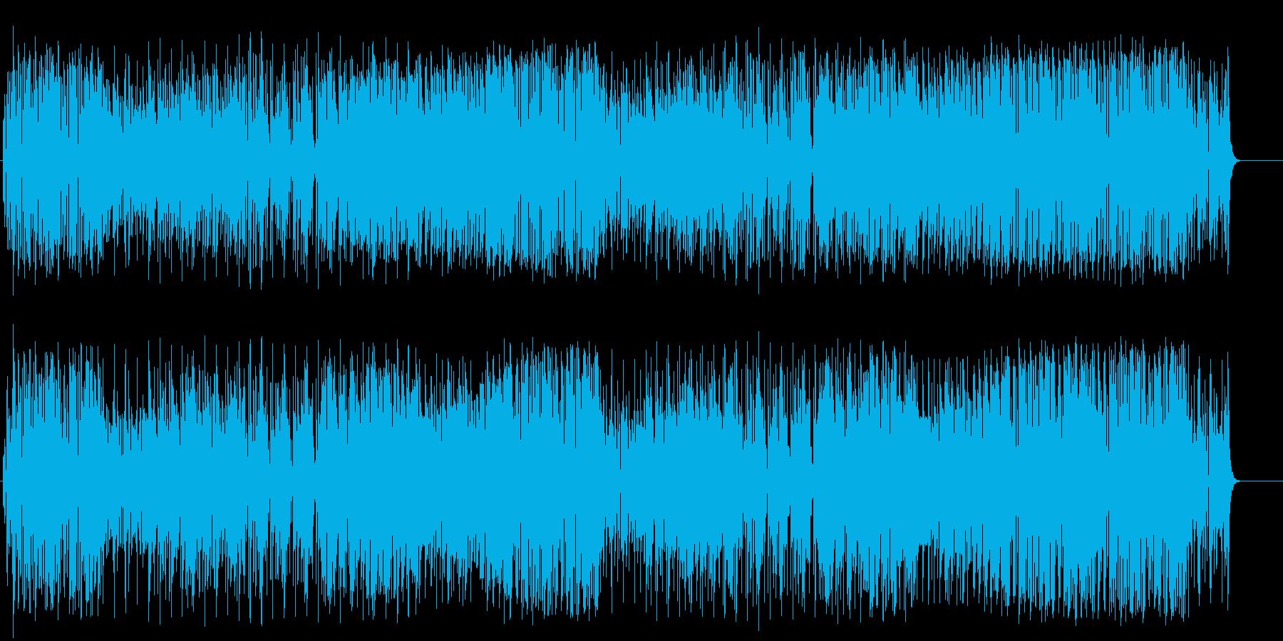 何をしようか考えたくなるハッピーなポップの再生済みの波形