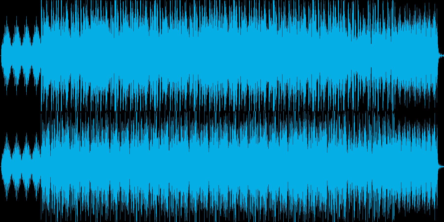 神秘的で幻想的な曲の再生済みの波形