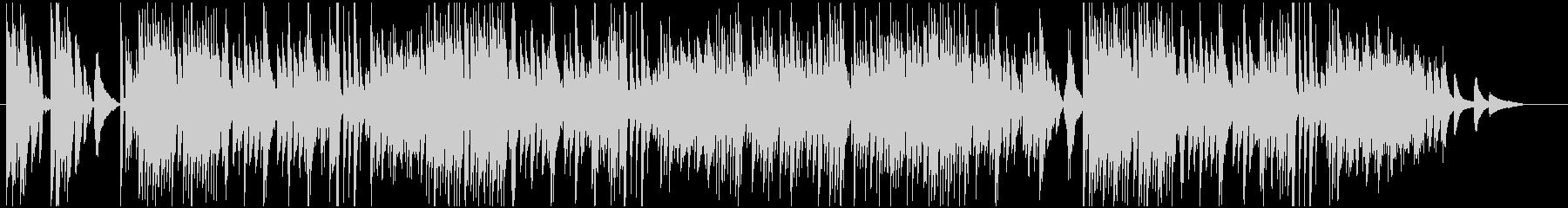 シンプル!わくわくファンシーなピアノ曲の未再生の波形
