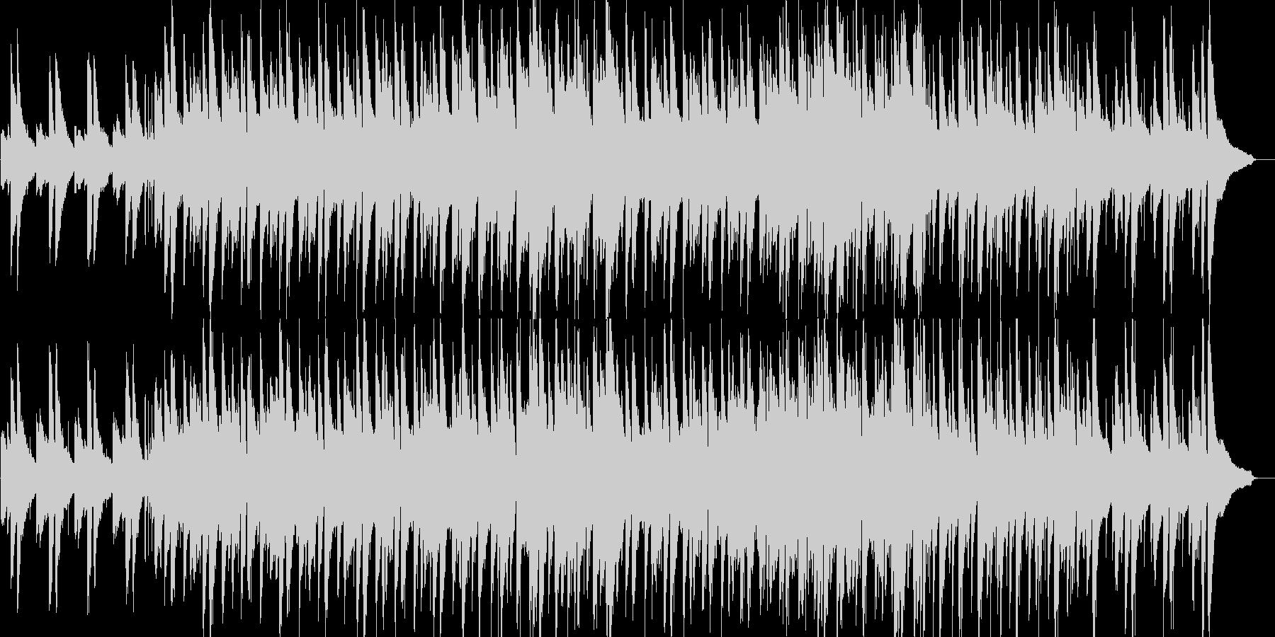 わくわく・軽快・ピアノ・イベント・映像用の未再生の波形