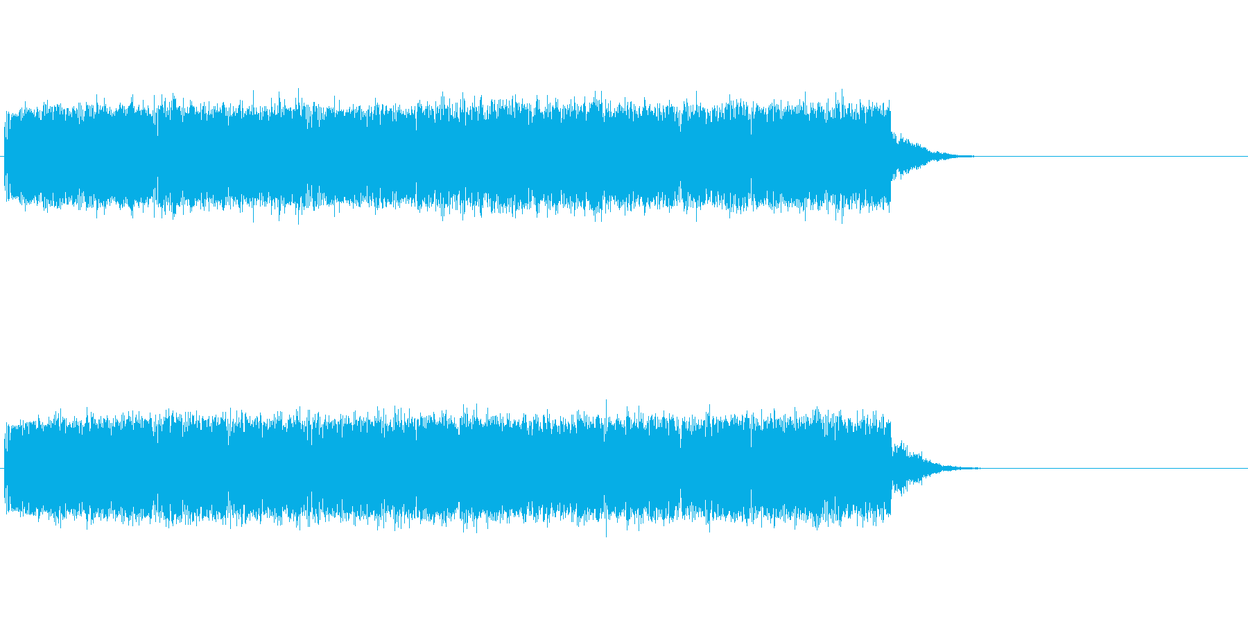 デロデロの再生済みの波形