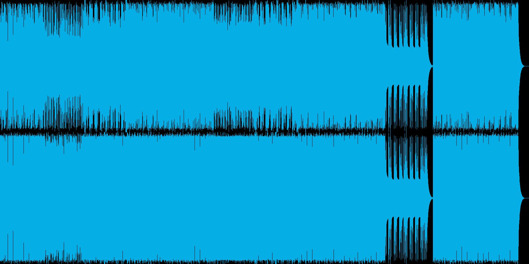 ビッグバンド/808/ブラス/ゴージャスの再生済みの波形