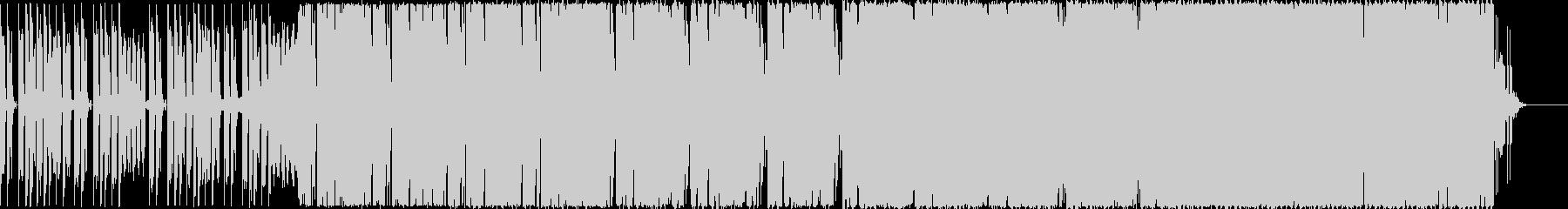 ピラティスやヨガ、エクササイズ系ハウスの未再生の波形