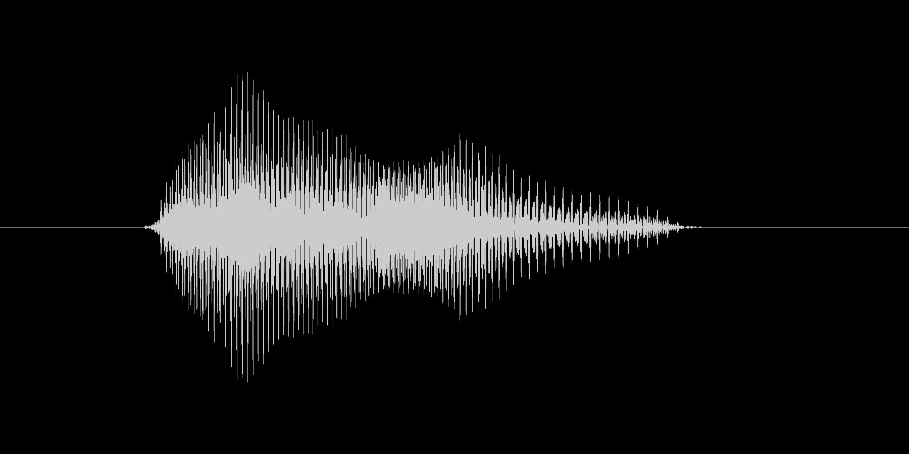 a,A,A(エイ,エー)の未再生の波形