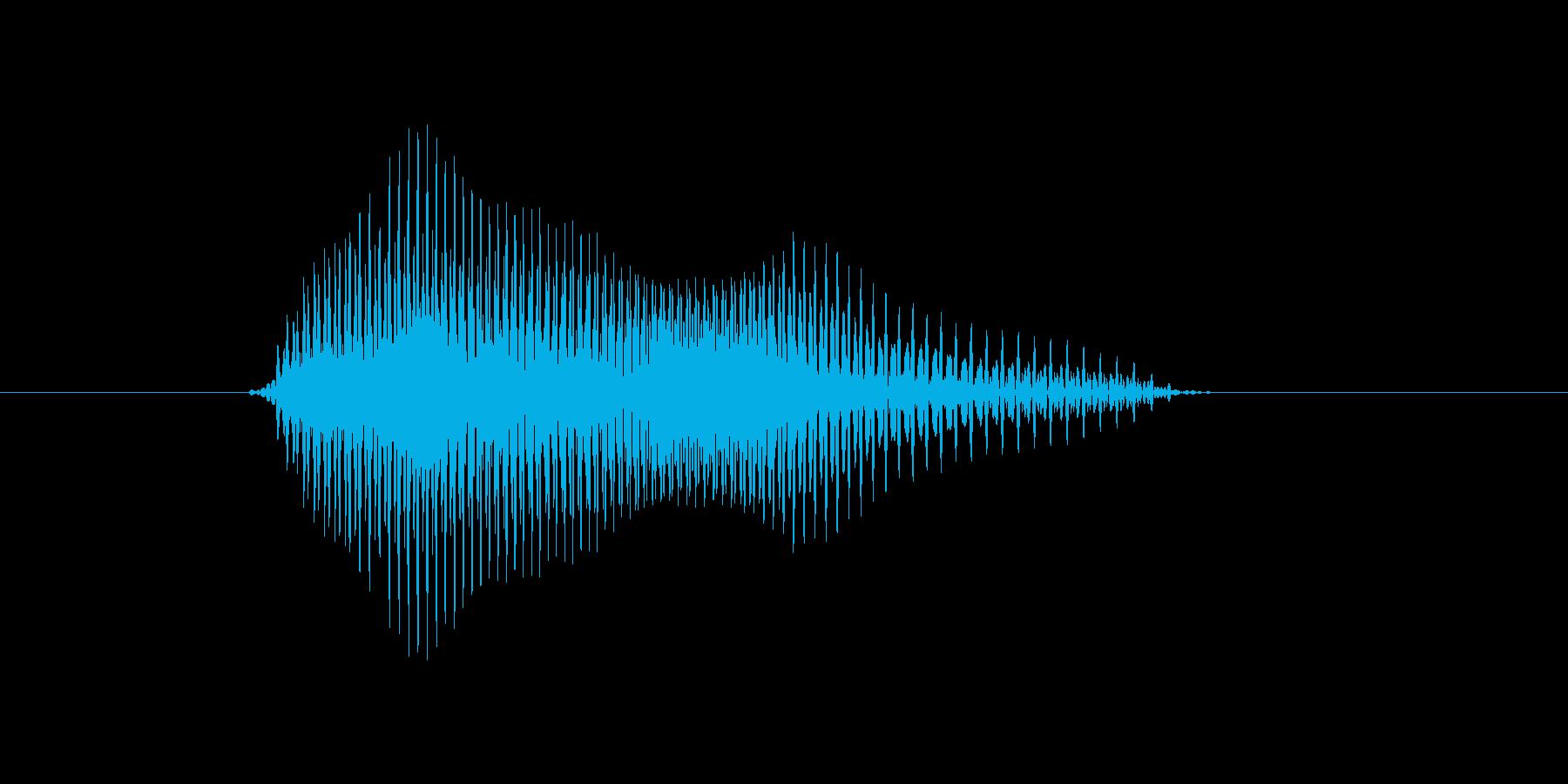 a,A,A(エイ,エー)の再生済みの波形